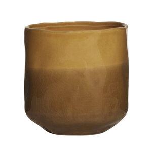 Blumentopf amber Keramik - Mitienda Shop