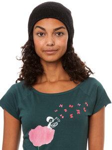 FellHerz Tubamädchen Cap Sleeve Woman T-Shirt deepteal - FellHerz