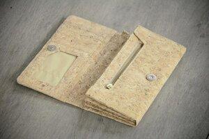 Portemonnaie aus Kork, praktische Brieftasche, handgefertigt und vegan - BY COPALA