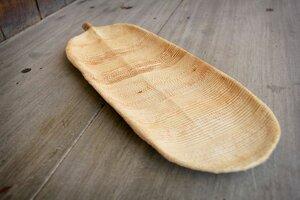 Schale, handgefertigt aus Bananenbäumen, extra lang – L-Size - BY COPALA