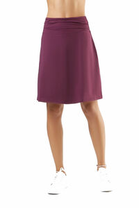 Damen Röcke Lang Bio-Baumwolle Rock Kleid - Albero