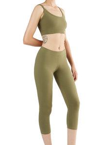 Damen 7/8 Leggings Bio-Baumwolle 3/4 - Albero