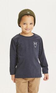 Kinder Langarm-Shirt Flax Owl reine Bio-Baumwolle - KnowledgeCotton Apparel