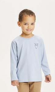 Kinder Langarm-Shirt Flax Owl reine Bio-Baumwolle - KnowledgeCotton Apparel