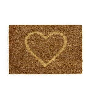 Fußmatte Herz aus Kokosfaser - Mitienda Shop