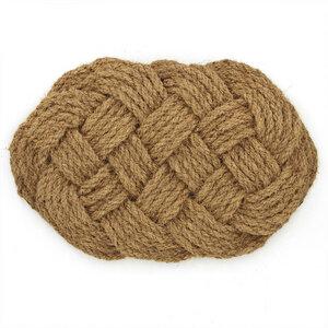 Fußmatte Bretzel aus Kokosfaser - Mitienda Shop