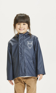 Regenjacke - REED Short Rain Jacket - recyceltes Polyester - KnowledgeCotton Apparel