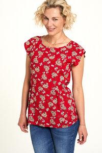 EcoVero Shirt mit Print in verschiedenen Farben - TRANQUILLO