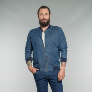 Till | Blouson | Light Denim - Feuervogl