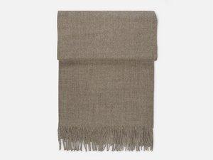 Schal aus Alpakawolle mit Fransen - FOLKDAYS