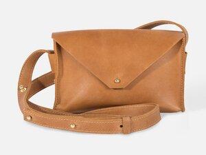 Envelope-Tasche aus Leder - FOLKDAYS