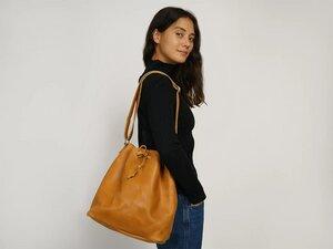 Bucket Bag aus Leder - FOLKDAYS