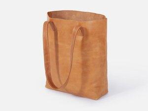 Tote Bag aus Leder - FOLKDAYS