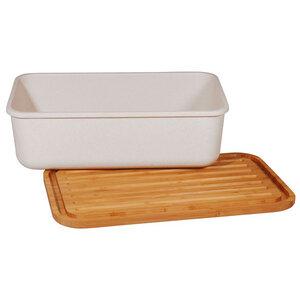 Brotbox mit Schneidebrett-Deckel - biologisch abbaubar - Zuperzozial
