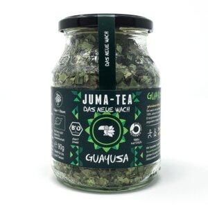 """Guayusa Kräutertee JUMA-TEA """"DAS NEUE WACH"""" im Mehrwegglas - JUMA-TEA"""