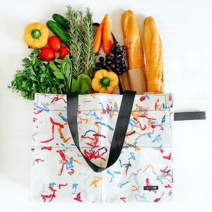"Shopper-Tasche aus recycelten Plastiktüten ""Up-fuse Shopping Bag"" - Up-fuse"