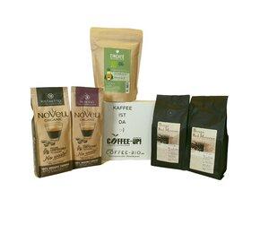 Entdeckerpaket Espresso und Ristretto (ganze Bohne) - Coffee-Up!