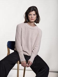 Circular Fashion Dune Sweater - circular Baumwolle - modische Passform - Loop.a life