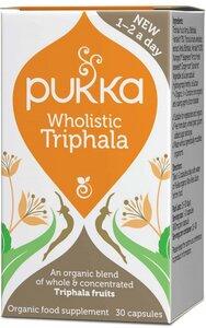 Bio Wholistic Triphala - 30 Kapseln - Pukka Herbs