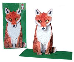 3D-Grusskarte 'Fuchs'  - Gollnow Paper Creations