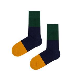 Socken aus Bio-Baumwolle / Organic Cotton TRICOLOR - Kabak