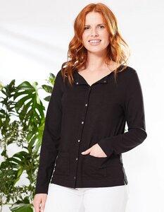 Jersey-Jacke aus 100% Bio-Baumwolle (GOTS) - Deerberg
