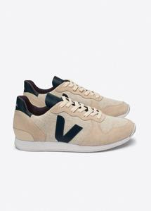 Holiday Low Top Suede Jute Natural Sable Nautico - Veja