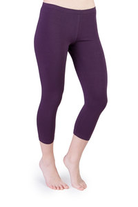Leggings Iris capri violett - Ajna