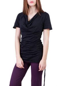 Shirt / Kleid Camelia schwarz - Ajna