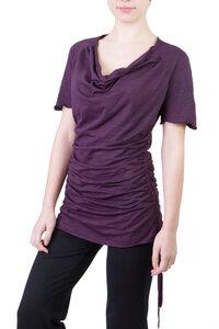 Shirt / Kleid Camelia violett - Ajna