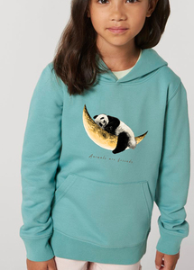 Flauschiger Kinderhoodie /Animals are friends - Dreaming Panda - Kultgut