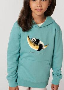 Flauschiger Kinderhoodie /Animals are friends - Dreaming Panda - Kultgut