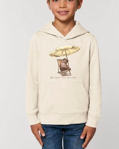 Flauschiger Kinderhoodie /Animals are friends - Hippoholiday - Kultgut
