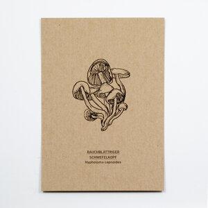 Rauchblättriger Schwefelkopf Postkarte - Kleinwaren / von Laufenberg