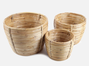 Übertopf aus Bambus - FOLKDAYS