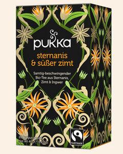 Sternanis & Süßer Zimt Pukka Tee Bio, 20 Teebeutel - Pukka