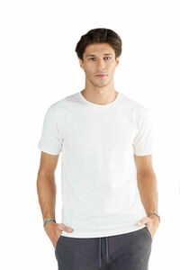 Herren Kurzarm T-Shirt Bio-Baumwolle GOTS Rundhalsausschnitt 2218 - Albero