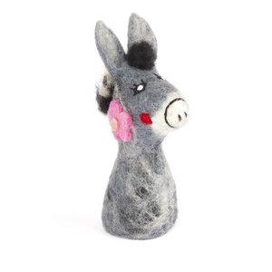 Esel als Filz Eierwärmer - short'n'pietz