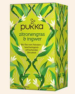 Zitronengras & Ingwer Pukka Tee Bio, 20 Teebeutel - Pukka