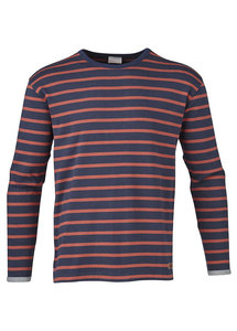 Striped Long Sleeve Bossa Nova - KnowledgeCotton Apparel