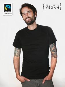 Fairtrademerch Men's Organic T-Shirt (black) SALE - Fairtrademerch