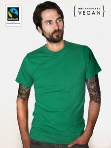 Fairtrademerch Men's Organic Tee (green) - Fairtrademerch