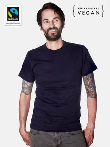 Fairtrademerch Men's Organic Tee (navy) - Fairtrademerch