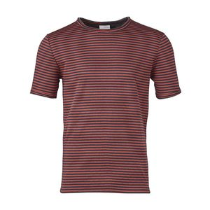 Double Layer Striped T-Shirt Bossa Nova - KnowledgeCotton Apparel