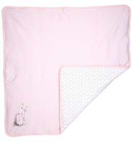 Babydecke rosa - DimOrganic