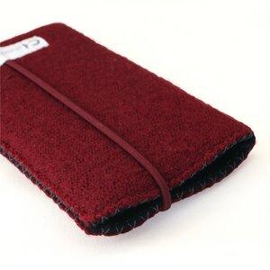 Hülle für iPhone aus edlem Wollwalk - chochuri