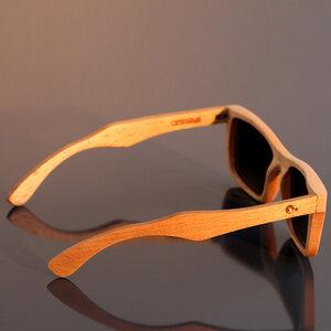 Purangi - Sonnenbrille aus Buchenholz - Coromandel