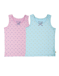Mädchen Unterhemd 2er Pack - Frugi