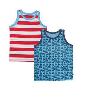 Jungen Unterhemd im 2er Pack - Frugi