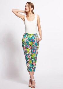 Abbie Vintage Flower Print Trousers - People Tree